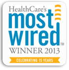 Healthcare's Most Wired Winner, 2013