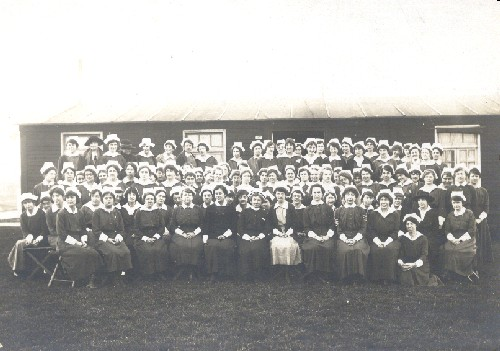 WWI Nurses in LeTreport, France. World War I Nurses in LeTreport, France.